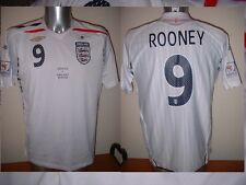 England ROONEY Large 08 Shirt Jersey Football Soccer Umbro Man Utd World Cup 9
