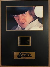 A Clockwork Orange Movie Film Cel Cell Senitype 35 mm frame Numbered OOP CDA R1
