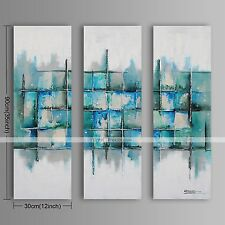 3 pieces Large Oil Painting Modern Abstract Hand Painted Canvas