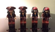 Lego Pirate of the Caribbean Jack Sparrow 4X