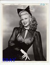 Ginger Rogers sexy glance VINTAGE Photo circa 1946