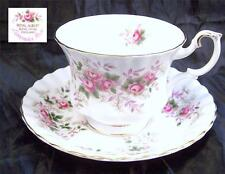 Beautiful Royal Albert Lavender Rose Footed Cup and Saucer Multiples Available