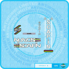 Scapin - Bicycle Decals Transfers - Stickers - Set 1