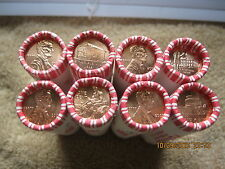 2009 P&D - 8 Rolls Lincoln Cent - Log Cabin, Formative, Professional, Presidency