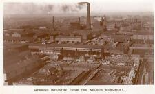 Herring Fishing Industry from Nelson Monument Great Yarmouth unused RP old pc
