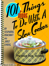 101 More Things To Do With A Slow Cooker Ninja Easy Recipes Spiral Cookbook  New