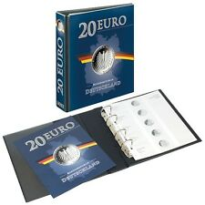 Lindner 3536M PUBLICA M Illustrated album for 20 Euro-Silver coins Germany