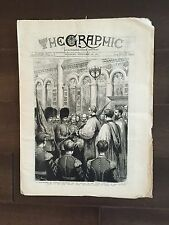 """""""THE GRAPHIC"""" (A Beautifully Illustrated British Weekly Newspaper)-Nov. 26, 1881"""