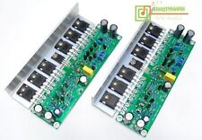 Assembled MOSFET power amplifier board with Angle aluminum (2 boards)