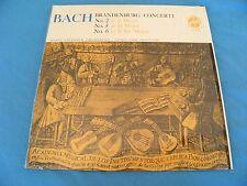 Bach - Brandenburg  - 2, 5, 6 - Gunter Kehr  - RARE 1964 STEREO In Shrink