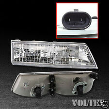 1995-1997 Mercury Grand Marquis Headlight Lamp Clear lens Halogen Right Side