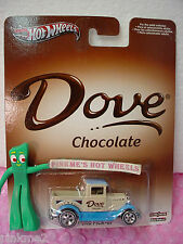 2013 POP CULTURE☆ Dove Chocolate '29 FORD PICK-UP☆ beige☆ Real Riders☆Hot Wheels