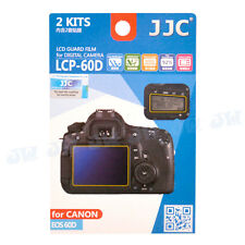 JJC Hard-Coating LCD Guard Film Screen Protector For Canon EOS 60D Camera