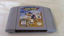 Star Wars Rogue Squadron Nintendo 64 N64 Game Cart - Tested!!