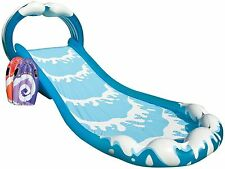 GIANT INFLATABLE GARDEN WATERSLIDE SURF N' SLIDE CHUTE & TWO SURF BOARDS TY6184