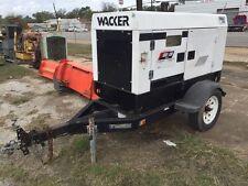 WACKER DIESEL G25 PORTABLE GENERATOR 21kw 2002 Texas
