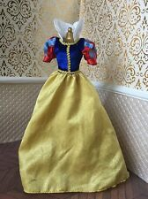 Snow White Gown Disney Store Classic Barbie Doll Dress