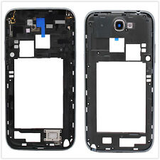 Back Black Housing Frame Repair Parts For Samsung Galaxy Note 2 II N7100