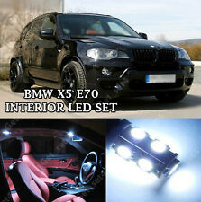 BMW X5 E70 INTERIOR COOL WHITE FULL UPGRADE LED LIGHT BULBS ERROR FREE KIT