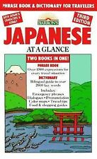 Japanese at a Glance : Phrase Book and Dictionary for Travelers : Illus. New