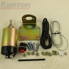 35 Pound Shaved Door Handle Trunk Solenoid Popper Kit Street Rod New