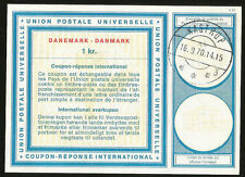 IRC PS INTERNATIONAL REPLY COUPON DENMARK 1970 KASTRUP DANEMARK DANMARK