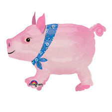 Airwalker: Precocious Pink Pig Babe Large Party Birthday Balloon