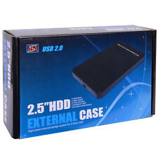 "2.5"" External Portable SATA Hard Disk Drive Enclosure USB holds 4TB from USA"