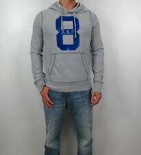 Abercrombie & Fitch Men Slim Muscle Fit Wolf Pond Hoodie Long Sleeve Tee  Shirt