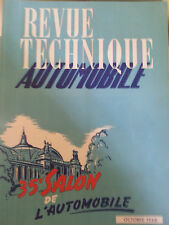 revue technique automobile  oct1948 35 salon de l'automobile