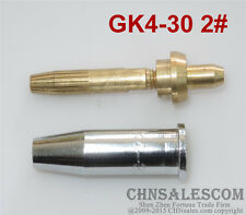 GK4-30 2# Oxygen Propane Cutting Welding Torch Tip Detachable