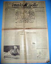 Settimanale IL MERLO GIALLO anno I  n° 14  2/7/1946