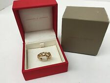 Carrera y Carrera 18K Yellow Gold Double Panther Ring in Box