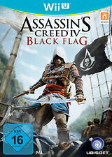 Wii u juego figuras assassins Assassin 's Creed 4 IV Black Flag como nuevo