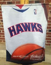 ATLANTA HAWKS~BUDWEISER~BUD LIGHT BEER~BANNER hanging sign NBA BASKETBALL rare