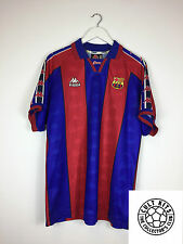 Barcelona RONALDO #9 95/97 Home Football Shirt (XL) Soccer Jersey Kappa