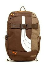 PUMA BARRICADE BACKPACK / BROWN / ORANGE/ 15x12x1 COMPARTMENT DIMENSIONS