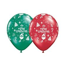 Party Decoration Supplies Christmas Ornaments 12 cm Balloons Pack of 10