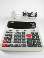 CANON 10 KEY CALCULATOR 12 DIGIT PRINTING 2 COLOR P200-DH III w/o Paper Cutter