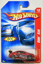 HOT WHEELS 2007 CODE CAR HONDA CIVIC SI RED