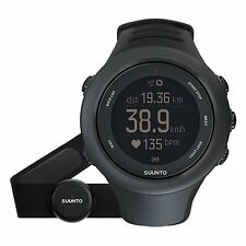 NUOVO * Suunto Ambit 3 BLACK Multisport Sport HR GPS Watch-ss020678000 RRP £ 310