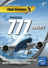 PMDG 777 (PC DVD) BRAND NEW SEALED PMDG 777-200LR/F ENGLISH VERSION