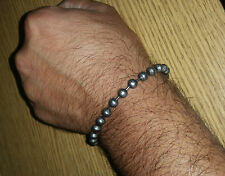 27 Sarbloh Pure Steel Meditation Praying Beads Talisman Sikh Simarna Bracelet