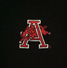 "Arkansas Razorbacks Vintage Embroidered Iron-On Patch (Old Stock) 1.7"" x 1.5"" A1"