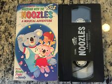 NOOZLES A MAGICAL ADVENTURE RARE OOP VHS! NOT ON U.S DVD! 1988 CARTOON ANIMATION