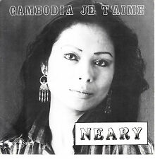 """7"""" 45 TOURS FRANCE NEARY """"Cambodia Je T'aime"""" 80'S"""