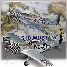 REVELL 1/48 NORTH AMERICAN P-51D MUSTANG KIT 5241 'BIG BEAUTIFUL DOLL'