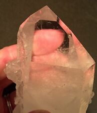 Quartz Crystal Point Brazil Lemurian Seed Time-Link Healing Natural Laser Wand