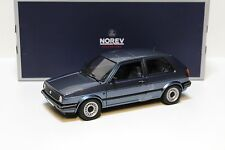 1:18 norev vw golf cl 2 II Blue 1989 New en Premium-modelcars