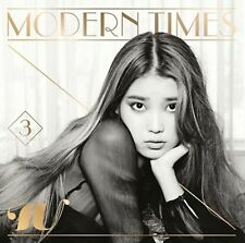K-POP IU 3rd Album [Modern Times] Normal Edition CD Sealed